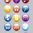 Apps icons — Stockvectorbeeld