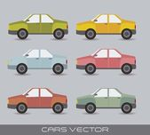 Cute cars — Stock Vector