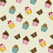 ������, ������: Cup cakes pattern