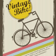 Stock Vector: Vintage bike