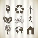 Постер, плакат: Ecology icons