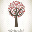 Royalty-Free Stock Obraz wektorowy: Valentines day card