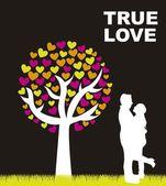 真実の愛 — ストックベクタ