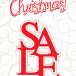 Christmas sale - Imagen vectorial