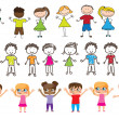 Vector de stock : Children