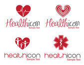 Health icon — Stock Vector