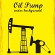 Oil pump - Stockvektor