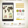 Stockvector : Infographics