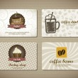 Coffee cards — Stock Vector #14114304