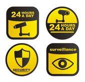 Vigilância — Vetor de Stock