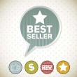 Best seller — Stock Vector #14734481