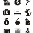Money icons — Stock Vector #14735169
