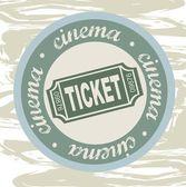 Biljett — Stockvektor