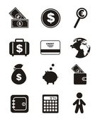 Money icons — Vetorial Stock