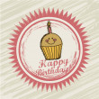 Birthday label — Stock Vector #15394361