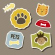 Pets icons — Stock Vector #15788439