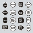 Stockvector : Labels vector