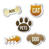 Κατοικίδια ζώα εικόνες — Διανυσματικό Αρχείο