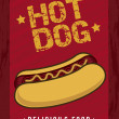 Royalty-Free Stock Vector Image: Hot dog