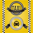 Taxi Icons — Stock Vector #15794181