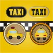 Taxi Icons — Stock Vector #15794373