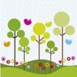 Royalty-Free Stock Vector Image: Spring vector