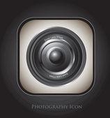 Photography icon — Stock Vector