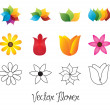 Royalty-Free Stock Imagen vectorial: Vector Flower