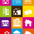 Royalty-Free Stock Vector Image: Houses