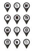 Files icons — Stock Vector