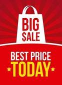 Big sale — Stock Vector