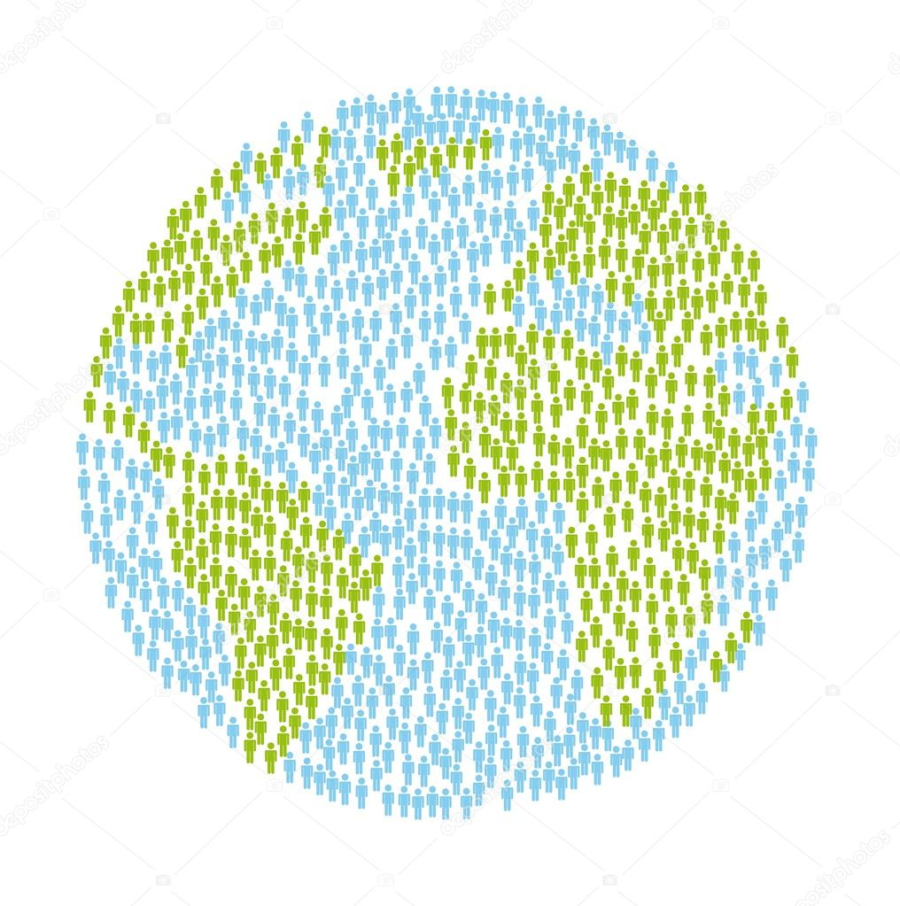 Planet with over white background. vector illustration — Stock Vector #17011347