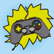 Stock Vector: Gamepad