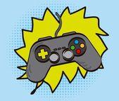 Gamepad — Stock Vector