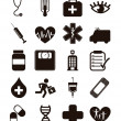 Medical icons — Stock Vector #17863645