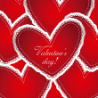 valentin day — Vector de stock