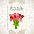 Royalty-Free Stock Vectorielle: Roses vector