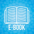 E book — Stock Vector