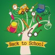 Back To school Icons — Stock Vector #18525549