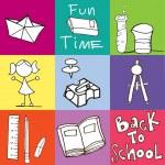 回学校图标 — 图库矢量图片