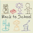 Back To school Icons — Stock Vector #18526091