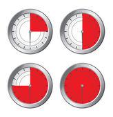 Cronometer — Stock Vector