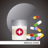 Medical icons — Vecteur