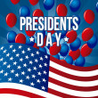 Presidents day — Stock Vector #18657415