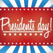 Vector de stock : Presidents day