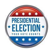 Presidential election — Stock Vector