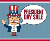 Presidents day — Stock Vector