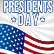 Presidents day - Stock Vector