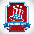 Presidents day — Stock Vector #18686985