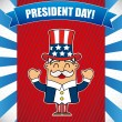 presidents day — Stock Vector